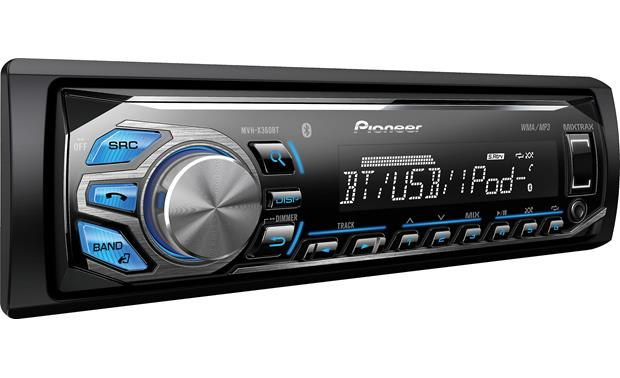 Pioneer MVH-X360BT Designed for your digital lifestyle