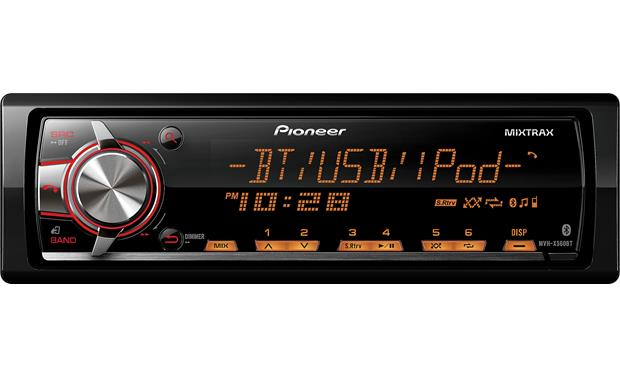 Pioneer MVH-X560BT Pioneer MVH-X560BT digital media receiver