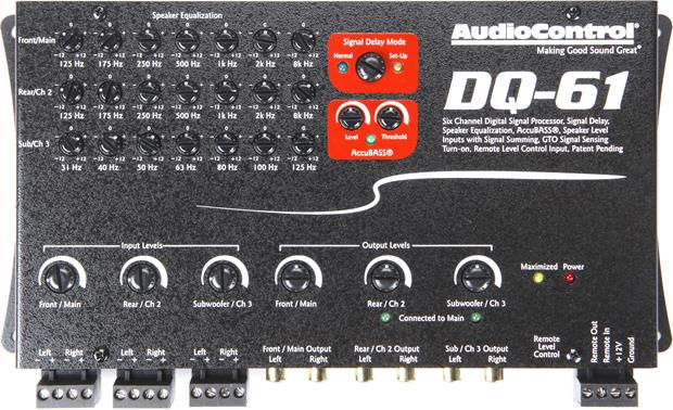 AudioControl DQ-61 Other