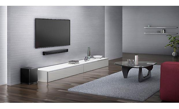 Onkyo LS-B50 Enjoy home theater sound from a sleek, space-saving design