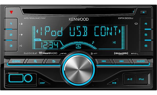 Kenwood DPX300U (Refurbished) Front