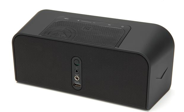 klipsch kmc 1 black portable bluetooth powered speaker system with aptx audio streaming at. Black Bedroom Furniture Sets. Home Design Ideas