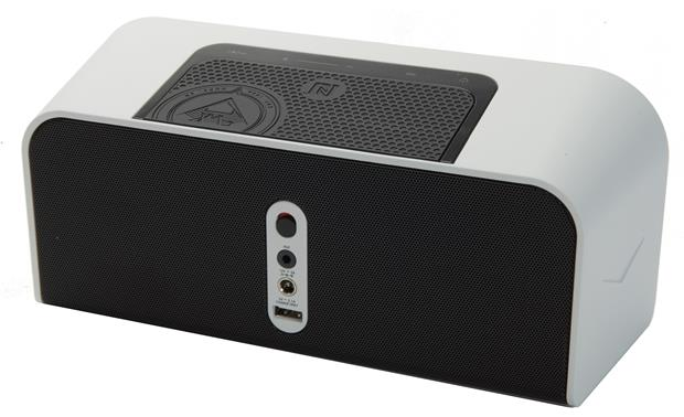 klipsch kmc 1 white portable bluetooth powered speaker system with aptx audio streaming at. Black Bedroom Furniture Sets. Home Design Ideas