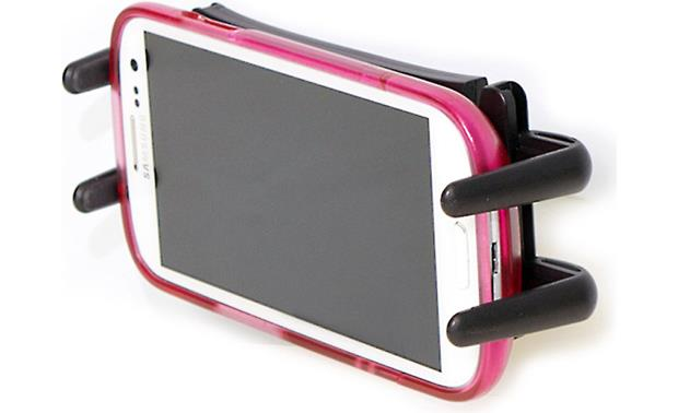 Pro.Fit Ultra Slim Holder with Double T/AMPS Adapter Phone not included