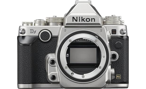 Nikon Df No Lens Included Silver Retro Styled Full Frame Dslr