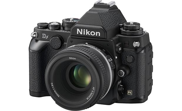 Nikon Df with 50mm f/1.8 lens Front (Black)