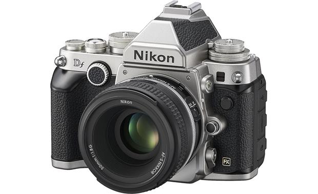 Nikon Df with 50mm f/1.8 lens Front (Silver)