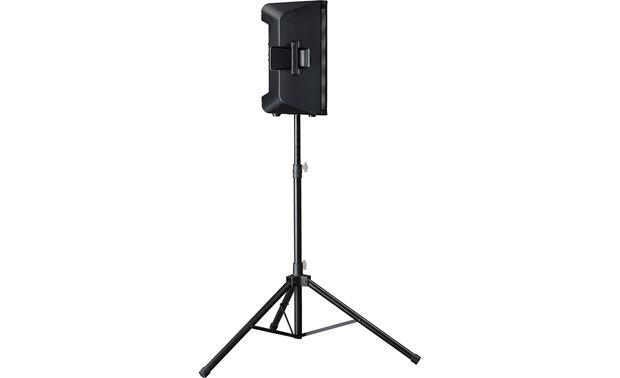 Yamaha DXR8 Mounted on stand (not included)