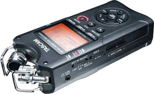 Tascam DR-40 Alternate view