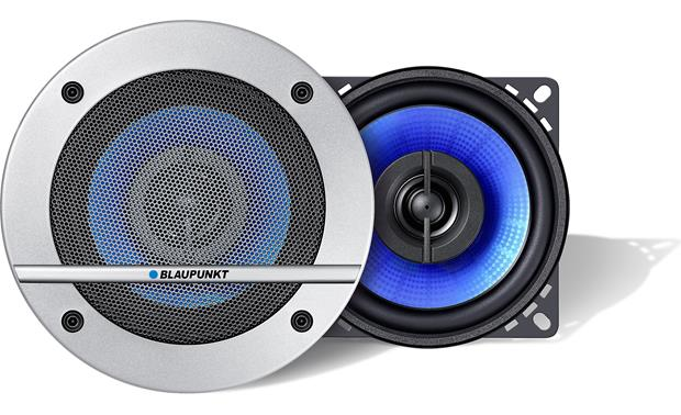 Blaupunkt Blue Magic CL 100 Install Blaupunkt Blue Magic speakers with or without the included grilles