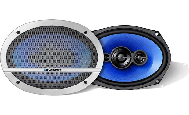 Blaupunkt Blue Magic QL 690 Install Blaupunkt Blue Magic speakers with or without the included grilles