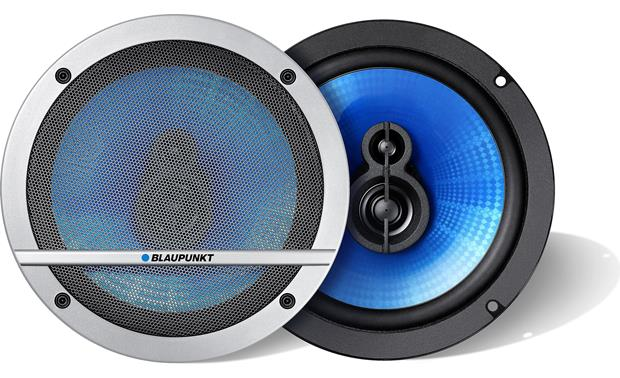 Blaupunkt Blue Magic TL 160 Install Blaupunkt Blue Magic speakers with or without the included grilles