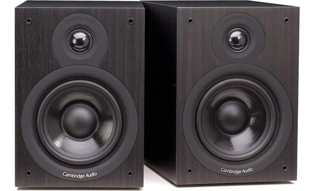 Cambridge Audio SX-50 Shown with grilles removed (Black)