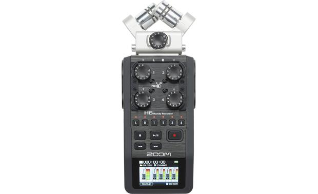 Zoom H6 Handy Front (with XY mic)