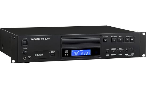 Tascam CD-200BT Alternate front view