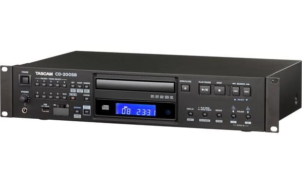 Tascam cd-200sb cd/sd/usb player with sd/usb dubbing from cd.