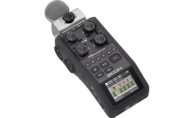 Zoom H6 Handy With MS mic installed