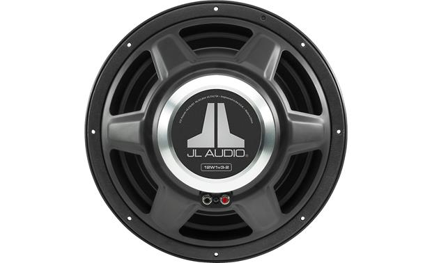 JL Audio 12W1v3-4 View of subwoofer magnet