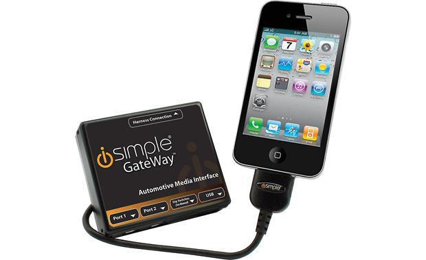 iSimple Media Gateway Front