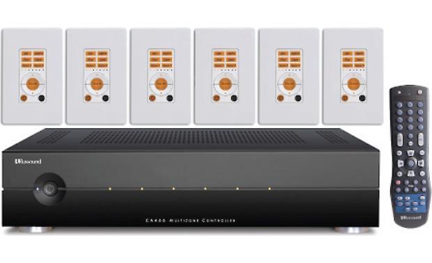 russound caa66 controller kit multi room controller. Black Bedroom Furniture Sets. Home Design Ideas