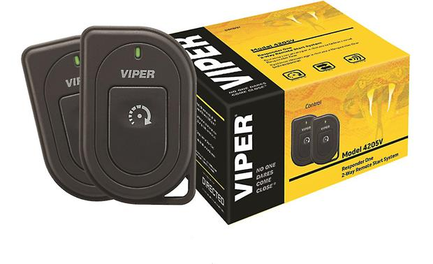 Viper Responder One (Model 4205V) Remote start/keyless entry system with  2-way remotes at CrutchfieldCrutchfield