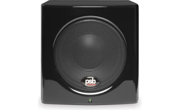 PSB Alpha PS1/SubSeries 100 Front, straight on view of the SubSeries 100 subwoofer