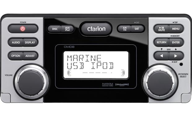 Clarion CMD8 marine CD receiver