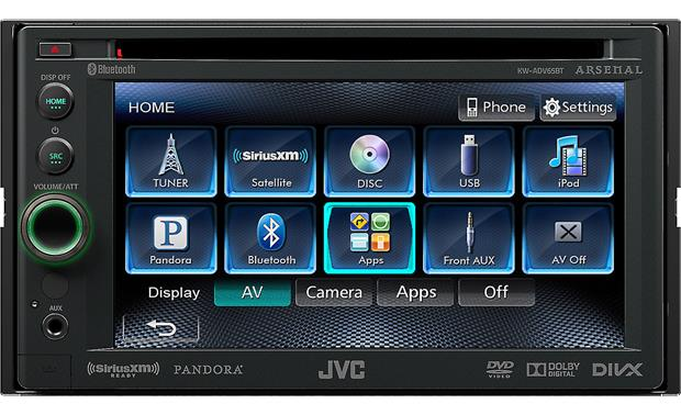 JVC Arsenal KW-ADV65BT Front