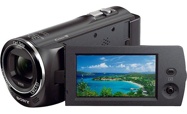 Sony Handycam® HDR-CX220 Front