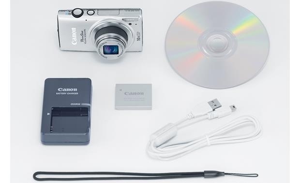 Canon PowerShot ELPH 330 HS With included accessories