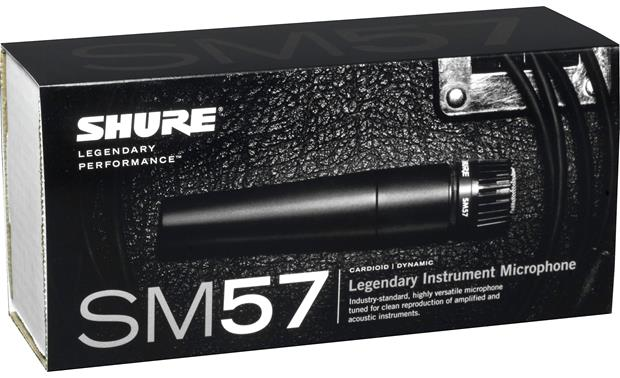 Shure SM57 Instrument Mic Package Other