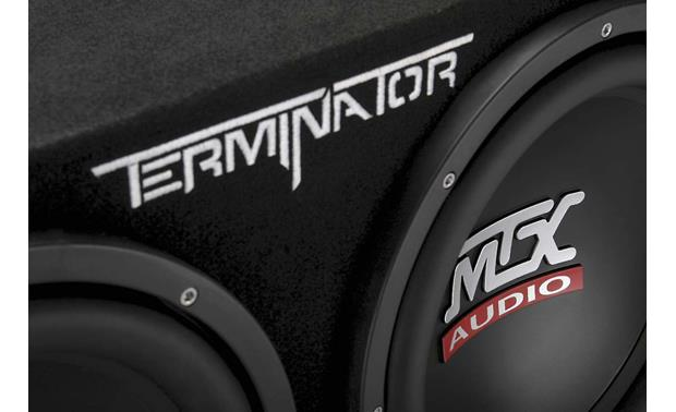 MTX TNP212D2 Bass Package Rugged enclosure, powerful subs