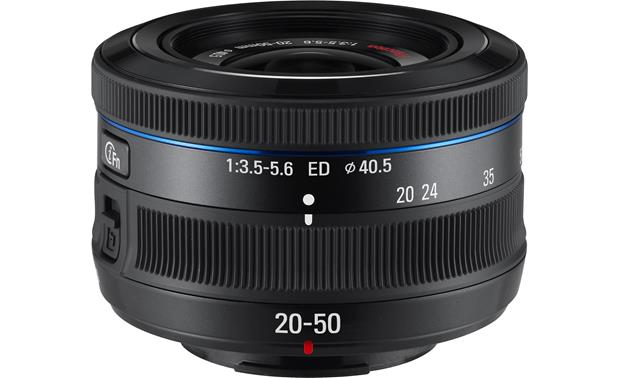 Samsung EX-S2050 20-50mm f/3.5-5.6 Front (Black)
