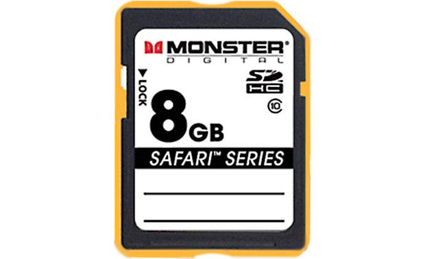 Monster Digital SDHC Memory Card Front (8GB)