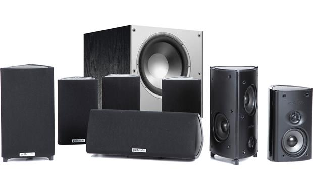 Polk Audio RM87/PSW108 System System package
