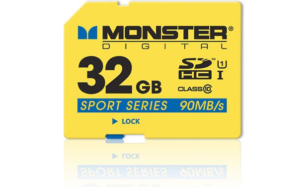 Monster Digital SDHC Memory Card Front (32GB)