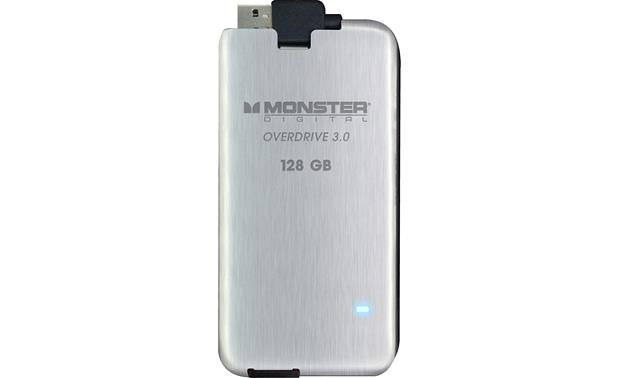 Monster Digital Overdrive™ 3.0 SSD Drive Front (128GB)