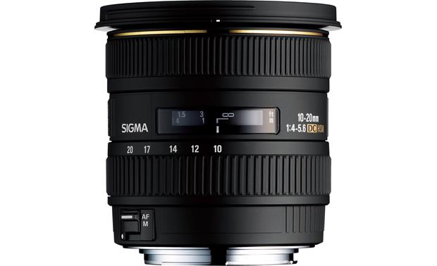 Sigma Photo 10-20mm f/4-5.6 EX DC HSM Front (Canon mount)