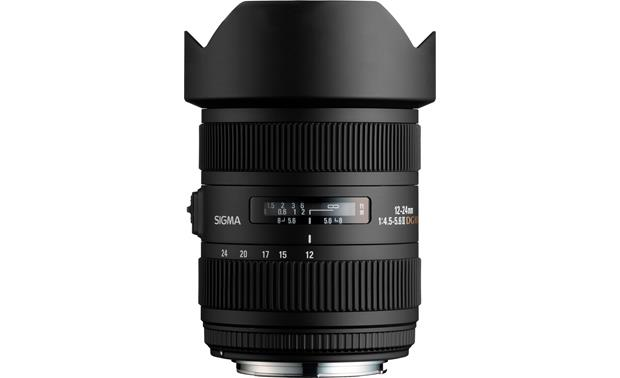 Sigma Photo 12-24mm f/4.5-5.6 II Lens Front (Canon mount)