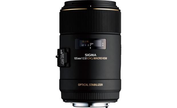 Sigma Photo 105mm f/2.8 Macro Lens Front (Canon mount)