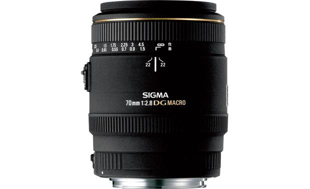 Sigma Photo 70mm f/2.8 Macro Lens Front (Canon mount)