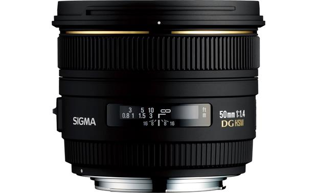 Sigma Photo 50mm f/1.4 EX DG HSM Front (Nikon mount)