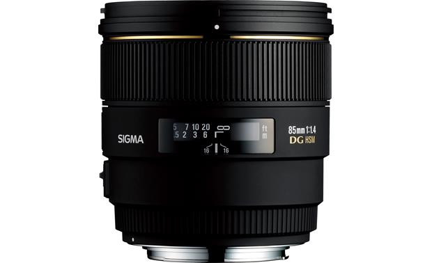 Sigma Photo 85mm f/1.4 Lens Front (Canon mount)