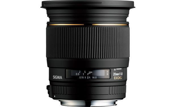 Sigma Photo 20mm f/1.8 EX DG ASP RF Front (Canon mount)