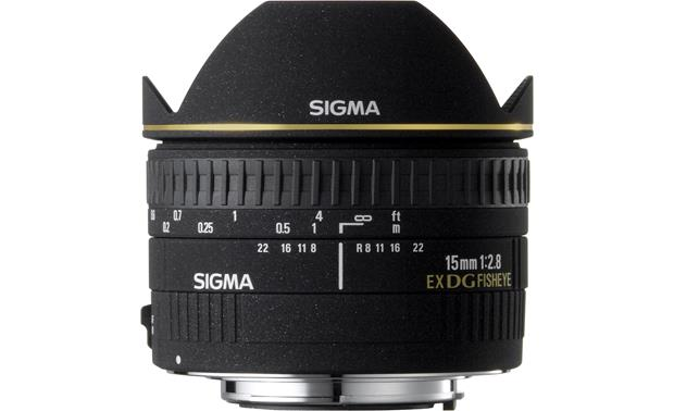 Sigma Photo 15mm f/2.8 Fisheye Lens Front (Canon mount)