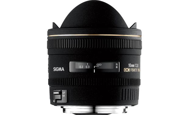Sigma Photo 10mm f/2.8 Fisheye Lens Front (Canon mount)