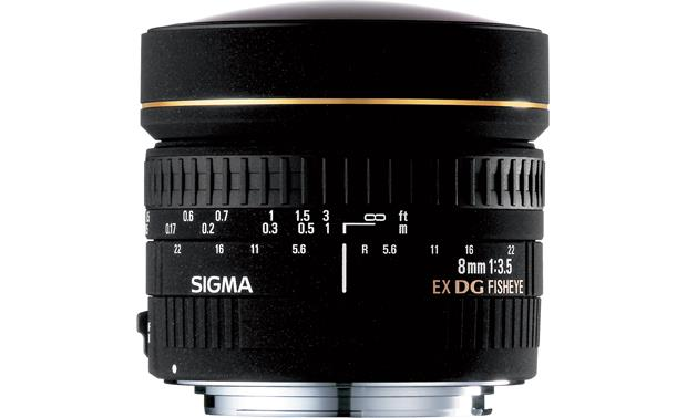 Sigma Photo 8mm f/3.5 Circular Fisheye Lens Front (Nikon mount)
