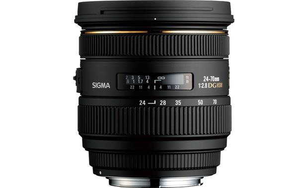 Sigma Photo 24-70mm f/2.8 Lens Front (Canon mount)