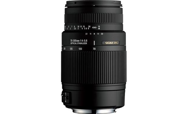 Sigma Photo 70-300mm f/4-5.6 Lens Front (Nikon mount)