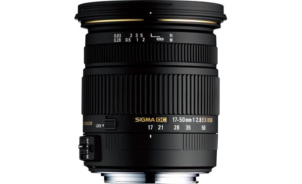Sigma Photo 17-50mm f/2.8 EX DC OS HSM Front (Canon mount)